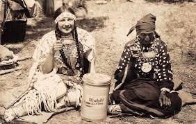 Coffee drinking Natives
