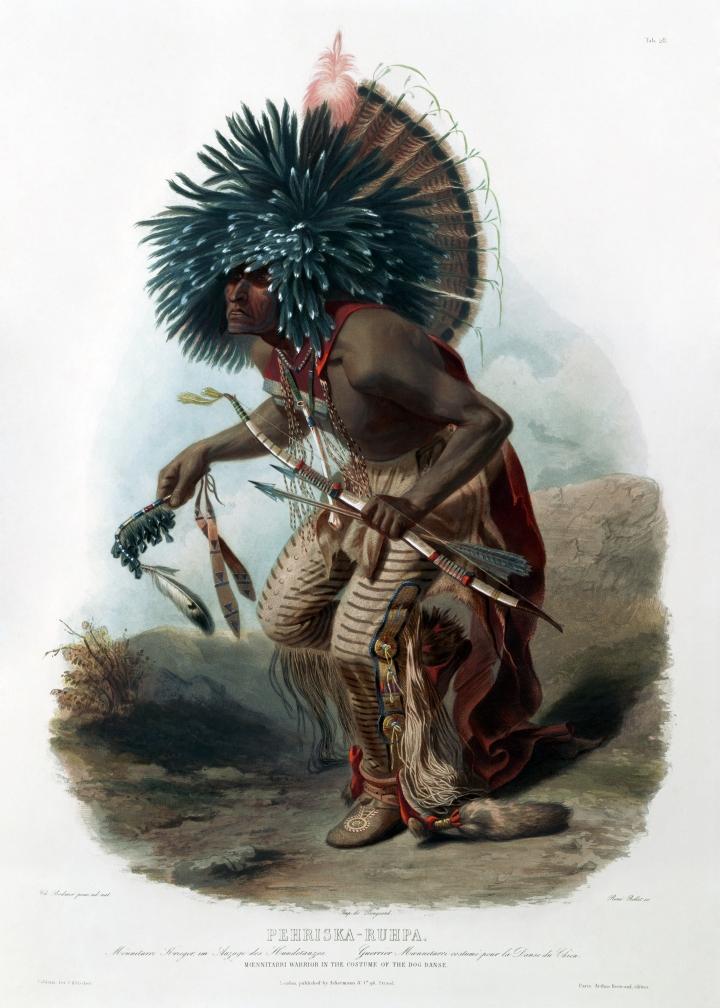 Moenitarri_warrior_in_the_costume_of_the_dog_danse_0056v