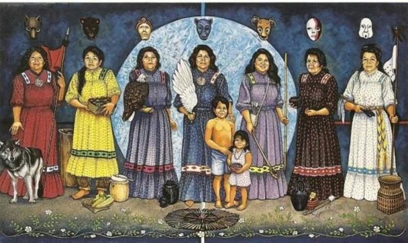 Cherokee Women - Dorthy Sullivan