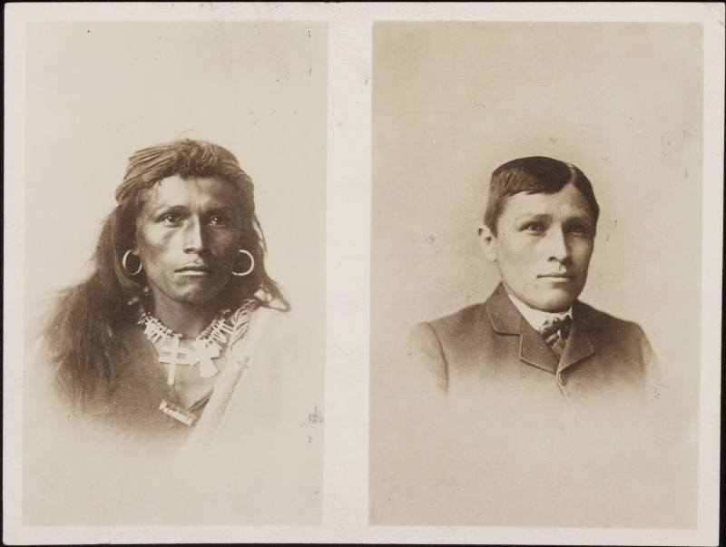 Tom_Torlino_Navajo_before_and_after_circa_1882