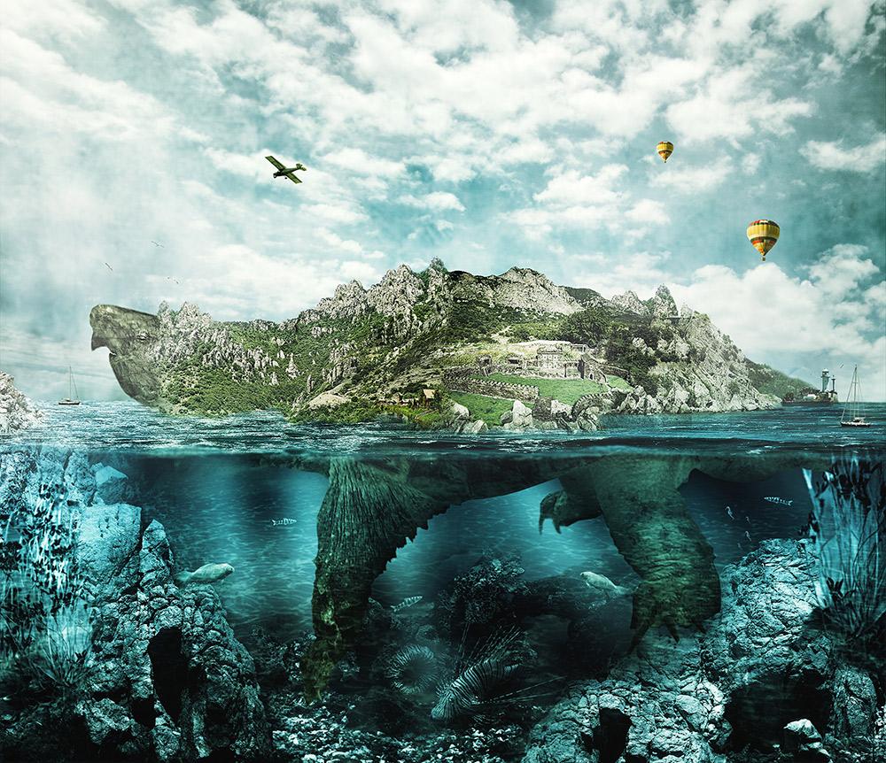 Turtle Island - dreamstime_xxl_54953777