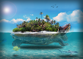 turtle_island_by_thebelgeran-d5crs9x